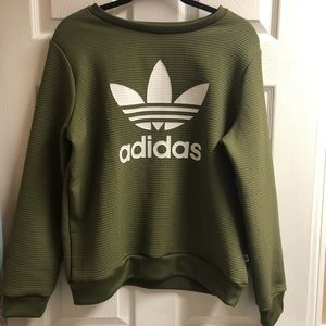 Army Green Adidas Pullover